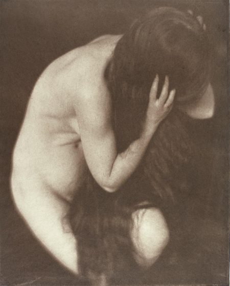 Heinrich Kuhn-Nude Study, Tyrol, 1907-1907