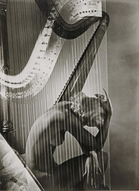 Horst P. Horst-Lisa Fonssagrives With Harp, C. 1939-1939