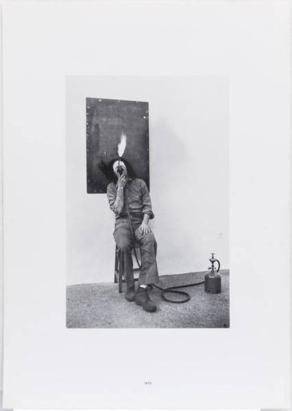 Jannis Kounellis-Jules Verne, a Captain for Fifteen Years-1980
