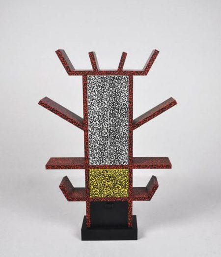 Ettore Sottsass-Miniature Bookcase Casablanca-1981