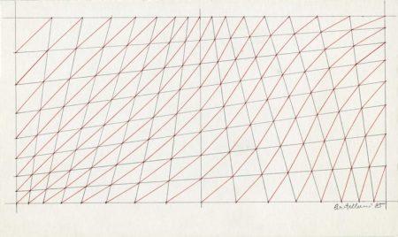 Enrico Castellani-Untitled-1985