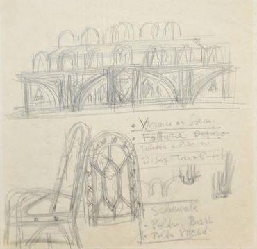 Furniture design for the Trentino Parliament
