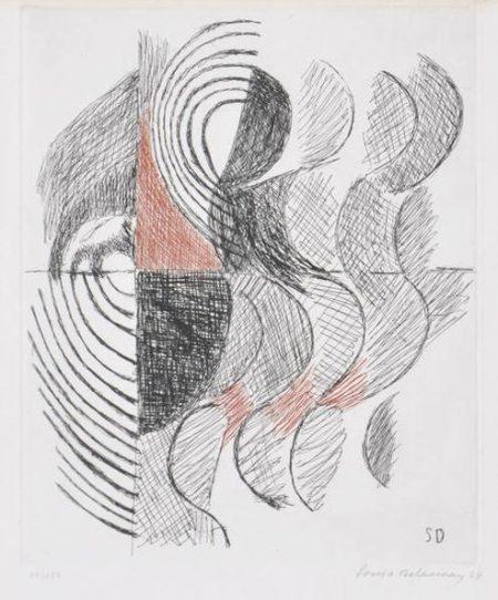 Sonia Delaunay-Untitled-1964
