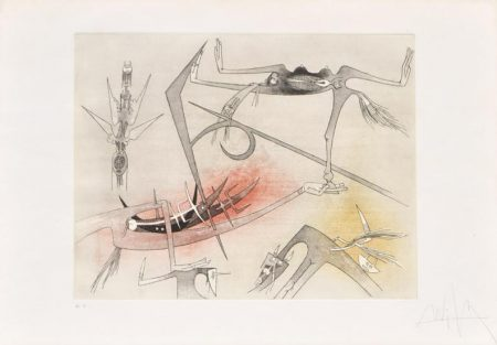 Wifredo Lam-Untitled-1973