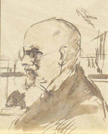Portrait Lionello Venturi