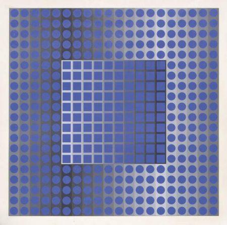 Victor Vasarely-Zett SZ-1970