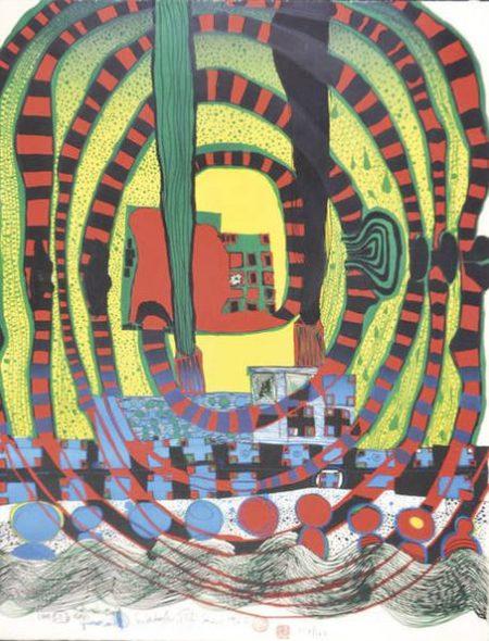 Friedensreich Hundertwasser-Good Morning City - Bleeding Town-1969