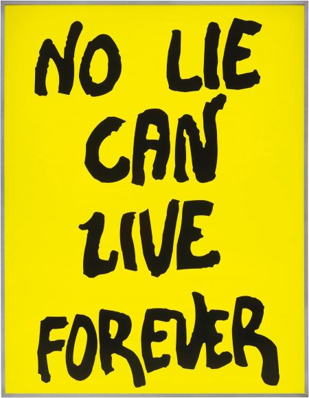 Sam Durant-No Lie Can Live Forever-2003