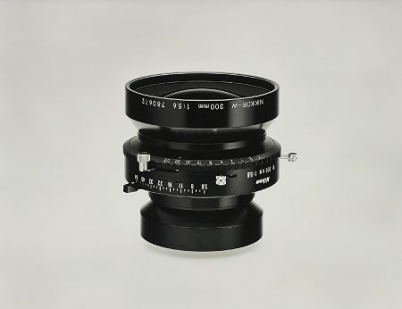 Christopher Williams-Nikkor W300 Mm F/5.6 With No. 3 Shutter 1:5.6 Product Aperture F/64 Product Number 1320 Nas Serial Number 780612 Large Format Camera Lens. Photography By The Douglas M. Parker Studio, Glendale, California. August 2, 2005-2005