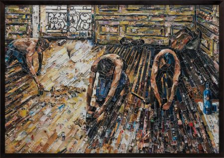 Floor Scrapers, After Gustave Caillebotte From Pictures Of Magazines 2-2011