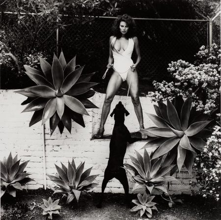 Raquel Welch In Her Backyard, Beverly Hills-1981