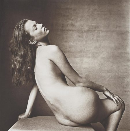 Irving Penn-Kate Moss, New York-1996