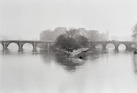 Henri Cartier-Bresson-Ile De La Cite, Paris-1951