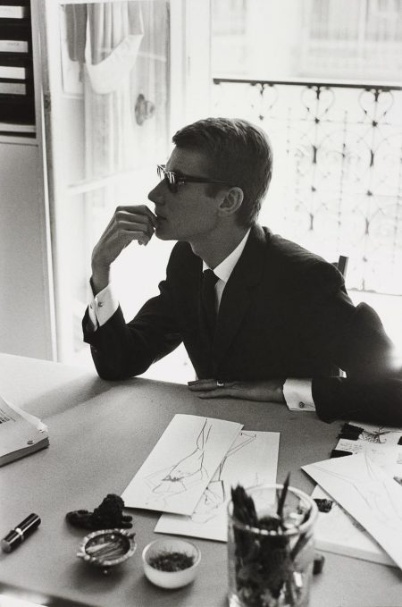Marc Riboud-Yves Saint-Laurent, Paris-1964