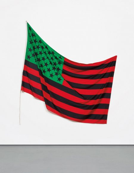 David Hammons-African-American Flag-1990