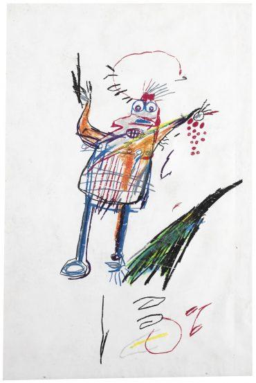 Jean-Michel Basquiat-Untitled (Bird)-1982