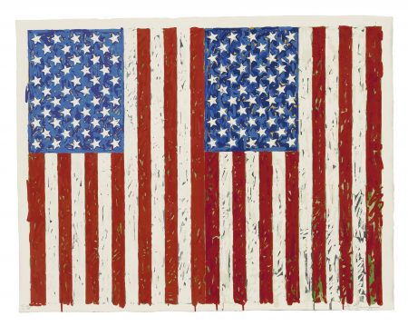 Jasper Johns-Flags I-1973