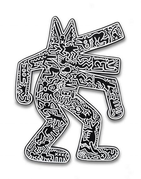 Keith Haring-Dog-1986