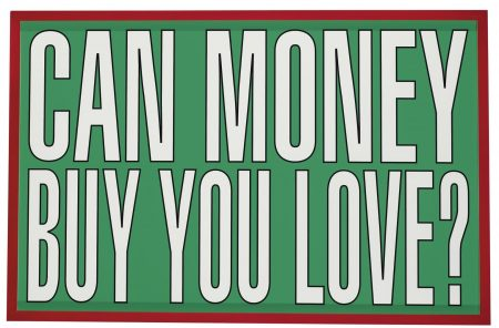 Barbara Kruger-Untitled (Can Money Buy You Love?)-2011