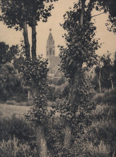 Alvin Langdon Coburn-The Two Trees, Rothenberg-1908