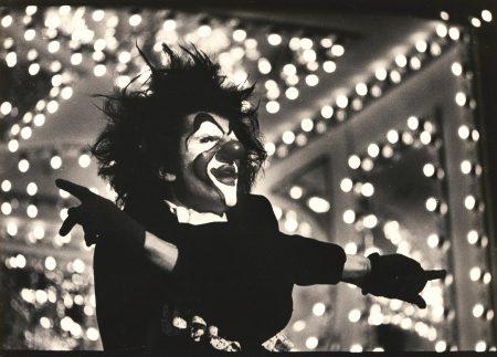 Martine Franck-Gerard Hardy In Les Clowns, Theatre Du Soleil, Aubervilliers, Outskirts Of Paris-1969