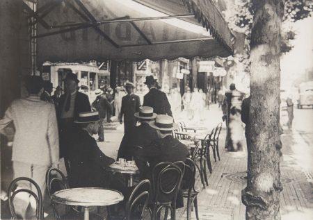 Horacio Coppola - Avenida De Mayo, Buenos Aires-1936