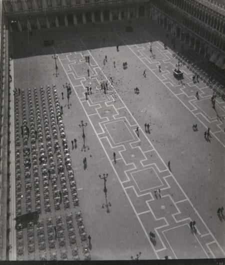 Jan Lauschmann - Under Campanile Bell Tower St. Mark, Venice-1935