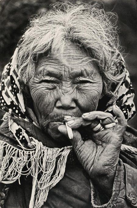 Dmitri Baltermants - Mother Of Fishermen Of Khantimansijsk-1972