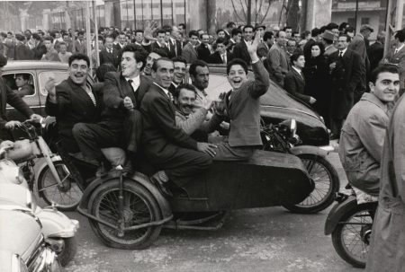 Enzo Sellerio - Palermo, Coming Out Of The Football Stadium-1961