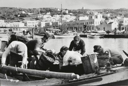 Rene Burri-Les Pecheurs De Mikonos, Greece-1957