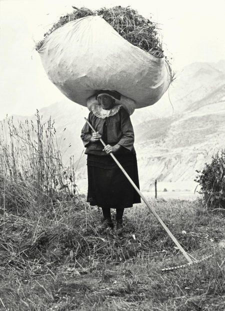 Pepi Merisio - Fienagione A Cogne, Aosta-1959