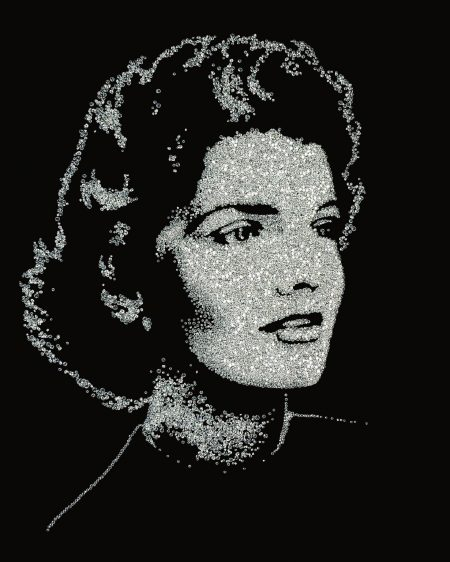 Vik Muniz-Jackie (From The Series Pictures Of Diamonds)-2005