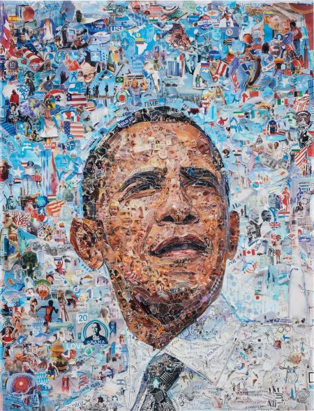 Vik Muniz-Obama (From The Series Pictures Of Magazine 2)-2012