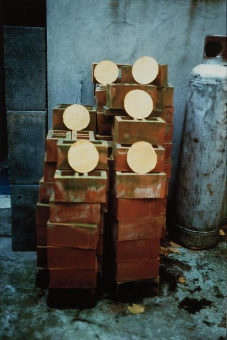 Gabriel Orozco-Tortillas Y Ladrillos (Tortillas And Bricks)-1990