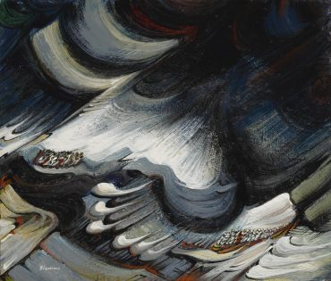 David Alfaro Siqueiros-Untitled (Circa 1960)-1960
