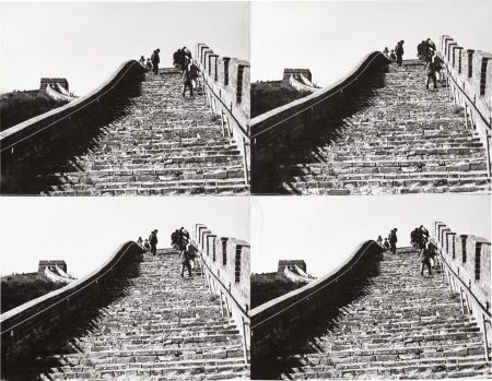 Andy Warhol-The Great Wall Of China-1987