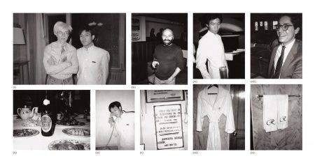 Andy Warhol-Nine Works: (I) Andy Warhol And Bellboy; (II) Restaurant Table; (III) Joe Durso; (IV) Bellboy; (V) 'Suggestion Please' Sign; (VI) Waiter; (VII) Bathrobe; (VIII) Jeffrey Deitch; (IX) Hotel Bath Towels-1982