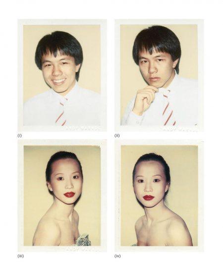 Andy Warhol-Four Works: (I) Alfred Siu; (II) Alfred Siu; (III) Julianna Siu; (IV) Julianna Siu-1982