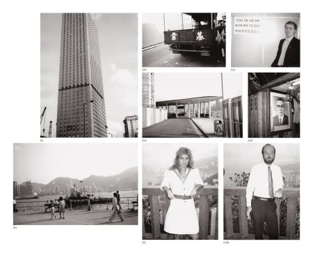 Andy Warhol-Eight Works: (I) Hong Kong Buildings; (II) Hong Kong Harbour; (III) Hong Kong Street (Truck); (IV) Hong Kong Harbour; (V) Natasha Grenfell; (VI) Christopher Makos; (VII) Picture Of A Man; (VIII) Patrick Cooney-1982