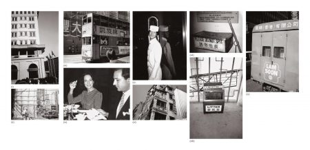 Andy Warhol-Nine Works: (I) Peninsula Hotel; (II) Hong Kong Construction Site; (III) Double Decker Bus; (IV) Fred Hughes And Unidentified Woman; (V) Bellhop; (VI) Hong Kong Building; (VII) Ash Can; (VIII) Trash Can; (IX) Chinese Truck-1982