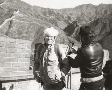 Andy Warhol-Andy Warhol At The Great Wall-1982
