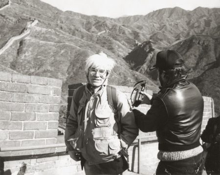 Andy Warhol At The Great Wall-1982