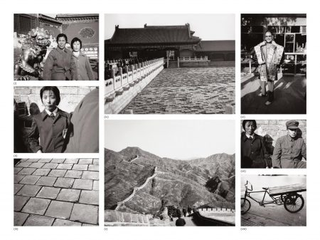 Andy Warhol-Eight Works: (I) Two Women; (II) Young Woman At Great Wall; (III) Great Wall; (IV) Temple; (V) The Great Wall Of China; (VI) Unidentified Woman; (VII) Young Man And Woman At Great Wall; (VIII) Bicycle-1982