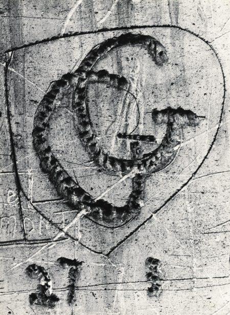 Sans Titre, De La Serie Graffiti, 1945-1955-1955