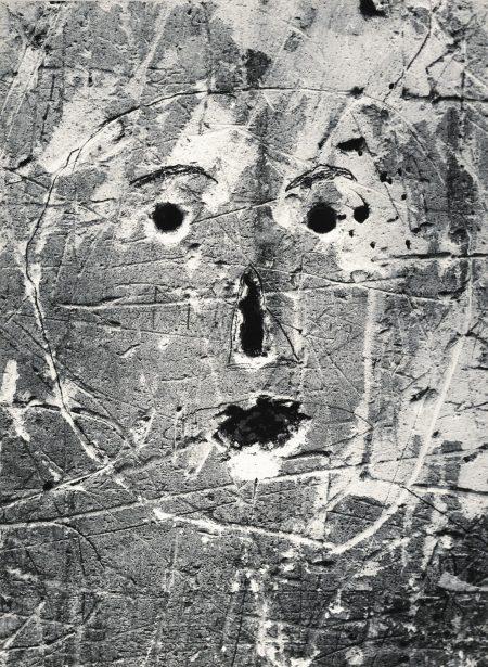 Sans Titre, De La Serie Graffiti [Masques Et Visages], 1945-1955-1955