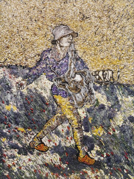 Vik Muniz-The Sower, After Van Gogh-2011