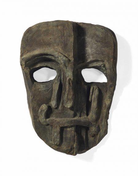Untitled Mask (Viper Mask)-2008