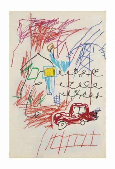 Jean-Michel Basquiat-Sans Titre-1981