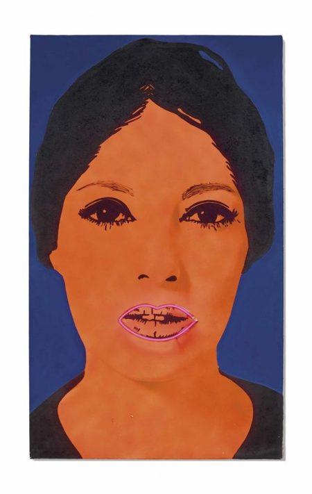 Elaine Sturtevant-Raysse Peinture A Haute Tension-1969