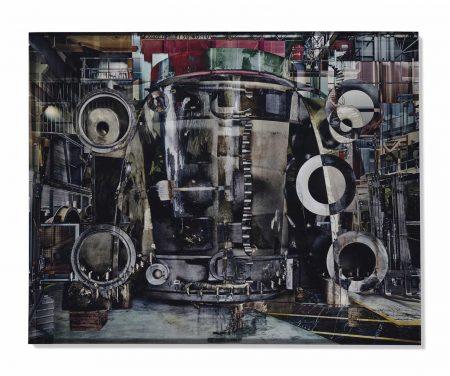 Stephane Couturier-Usine Alstom-Belfort, Photo N°2, Serie 'Melting Power', 2009-2009